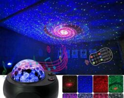 LED Colorful Starry Sky Projector Night Light