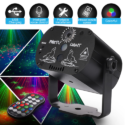 Mini RGB Disco Light LED Laser Stage Projector